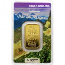 10g Argor Heraeus Following Nature III. - Jaro 2019 investiční zlatý slitek