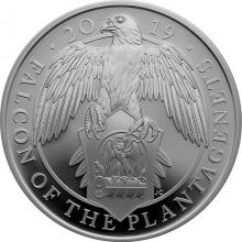Stříbrná mince Falcon of the Plantagenets 1 Oz 2019 Proof
