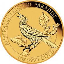 Zlatá investiční mince Australian Bird of Paradise 1 Oz 2019