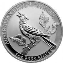 Stříbrná investiční mince Australian Bird of Paradise 1 Oz 2019