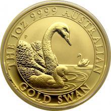 Zlatá investiční mince Australian Swan 1 Oz 2019