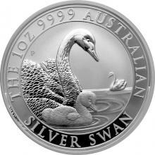 Stříbrná investiční mince Australian Swan 1 Oz 2019