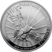 Stříbrná investiční mince Orel klínoocasý 1 Oz 2019