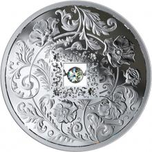 Stříbrná mince Kanadský diamant Oheň a led - Jiskra srdce 2019 Proof