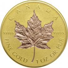Zlatá mince Maple Leaf 1 Oz - 40. výročí 2019 Proof