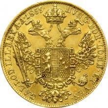 Zlatá mince Dukát Františka Josefa I. 1859 B