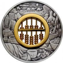 Stříbrná mince 2 Oz Počítadlo 2019 Antique Standard