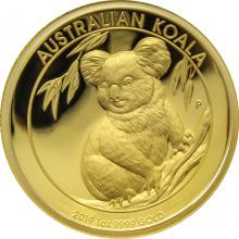 Zlatá mince Koala 1 Oz High Relief 2019 Proof