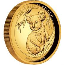 Zlatá mince 2 Oz Koala High Relief 2019 Proof