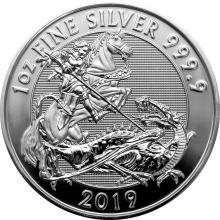 Stříbrná investiční mince Valiant 1 Oz 2019