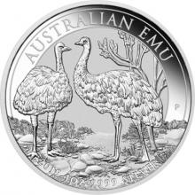 Strieborná investičná minca Emu 1 Oz 2019