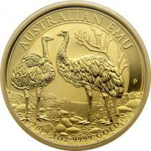 Zlatá investiční mince Emu 1 Oz 2019
