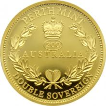 Zlatá mince Double Sovereign Australia 2019 Proof