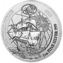 Strieborná investičné minca Victoria - Nautical ounce 1 Oz 2019
