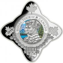 Stříbrná mince Královská cesta po Kanadě 1 Oz Royal Star 2019 Proof