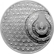Stříbrná mince 200 Kč Založení SUPŠ sklářské v Železném Brodě 100. výročí 2020 Proof