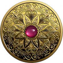 Zlatá mince Oslava rozmanitosti Kanady: Světlo & prosperita 1 Oz 2019 Proof