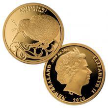 Zlatá minca Kiwi 1/4 Oz 2020 Proof