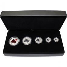 Sada stříbrných mincí 40 let kanadské národní hymny 2020 Proof