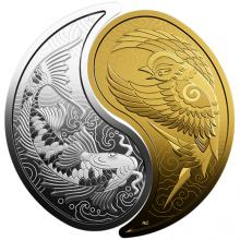 Jin - Jang Sada zlaté a strieborné mince 2019 Proof