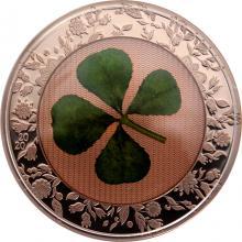 Stříbrná mince Čtyřlístek Unce štěstí 1 Oz 2020 Proof