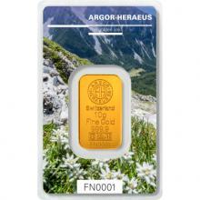 10g Argor Heraeus Following Nature III. - Jeseň 2019 Investičná zlatá tehlička