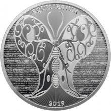 Stříbrná investiční mince Equilibrium Tokelau 1 Oz 2019