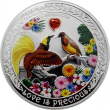 Stříbrná mince Rajky 1 Oz Love is Precious 2020 Proof