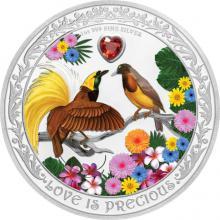 Stříbrná mince Rajky 1 Oz Love is Precious 2020 Proof