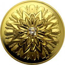 Zlatá mince Kanadský diamant 1 Oz Ultra high relief 2019 Proof