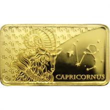 Zlatá mince Znamení zvěrokruhu - Kozoroh 2020 Proof