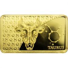 Zlatá mince Znamení zvěrokruhu - Býk 2020 Proof