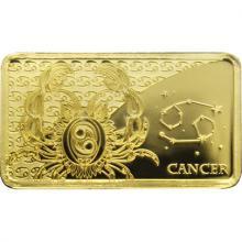 Zlatá mince Znamení zvěrokruhu - Rak 2020 Proof
