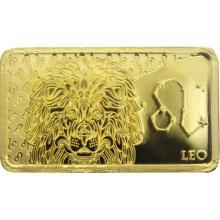 Zlatá mince Znamení zvěrokruhu - Lev 2020 Proof