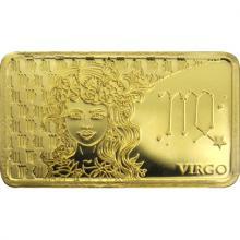 Zlatá mince Znamení zvěrokruhu - Panna 2020 Proof