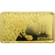 Zlatá mince Znamení zvěrokruhu - Štír 2020 Proof