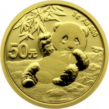 Zlatá investiční mince Panda 3g 2020