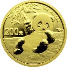 Zlatá investiční mince Panda 15g 2020