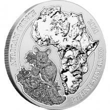 Strieborná investičná minca Komba Rwanda 1 Oz 2020