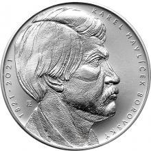 Strieborná minca 200 Kč Karel Havlíček Borovský 200. výročie narodenia 2021 Standard