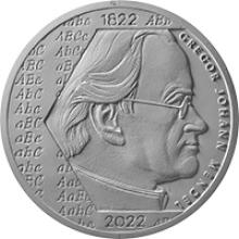 Stříbrná mince 200 Kč Gregor Mendel 200. výročí narození 2022 Standard