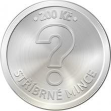 Stříbrná mince 200 Kč Zahájení pravidelného vysílání čs rozhlasu 100. výročí 2023 Standard
