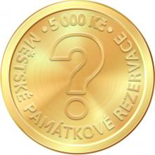 Zlatá mince 5000 Kč Městská památková rezervace Kroměříž 2023 Proof