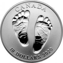 Stříbrná mince Vítej na světě 2020 Proof (.9999)