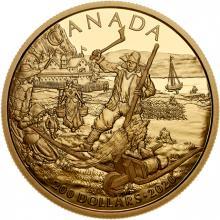 Zlatá mince Nová Francie 2020 Proof