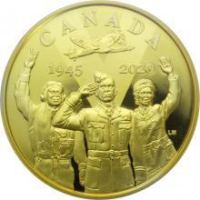 Zlatá mince Den vítězství v Evropě - 75. výročí 2020 Proof