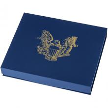 Modrá krabička pro 40 x 1 Oz Ag mince American Eagle