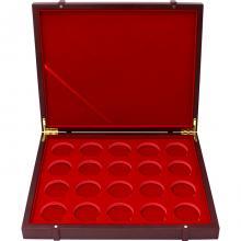 Dřevěná krabička pro 20 x 1 Oz Ag mince Britannia