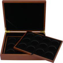 Dřevěná krabička pro 24 x 1 Oz Ag mince Panda