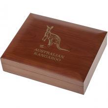 Dřevěná krabička pro 36 x 1 Oz Ag mince Kangaroo